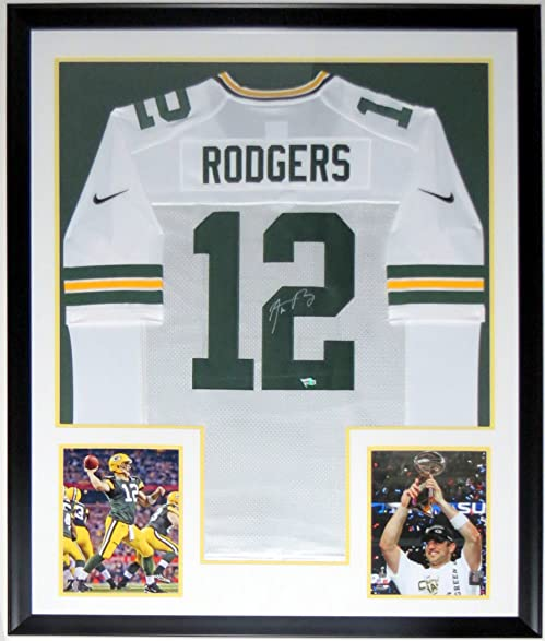Image Unavailable. Image not available for. Color  Aaron Rodgers Signed Nike  Green Bay Packers Jersey - Fanatics ... c9174de29