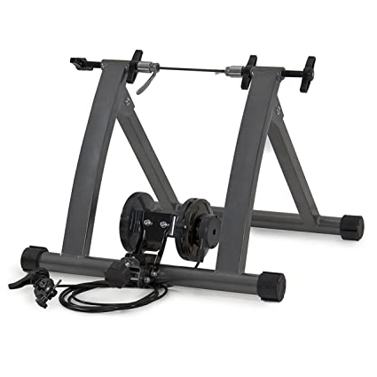 New Indoor Exercise Bike Bicycle Trainer Stand W// 5 Levels Resistance Stationary