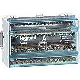 Legrand LEG04888 Répartiteur modulaire monobloc 4p 125 A 15 connexions 8 modules