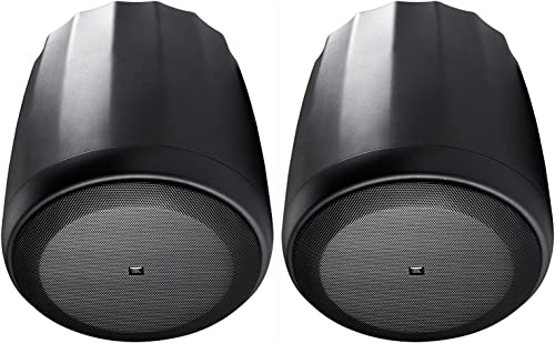 JBL C65P T Compact Full Range Pendant Speaker BLACK pair