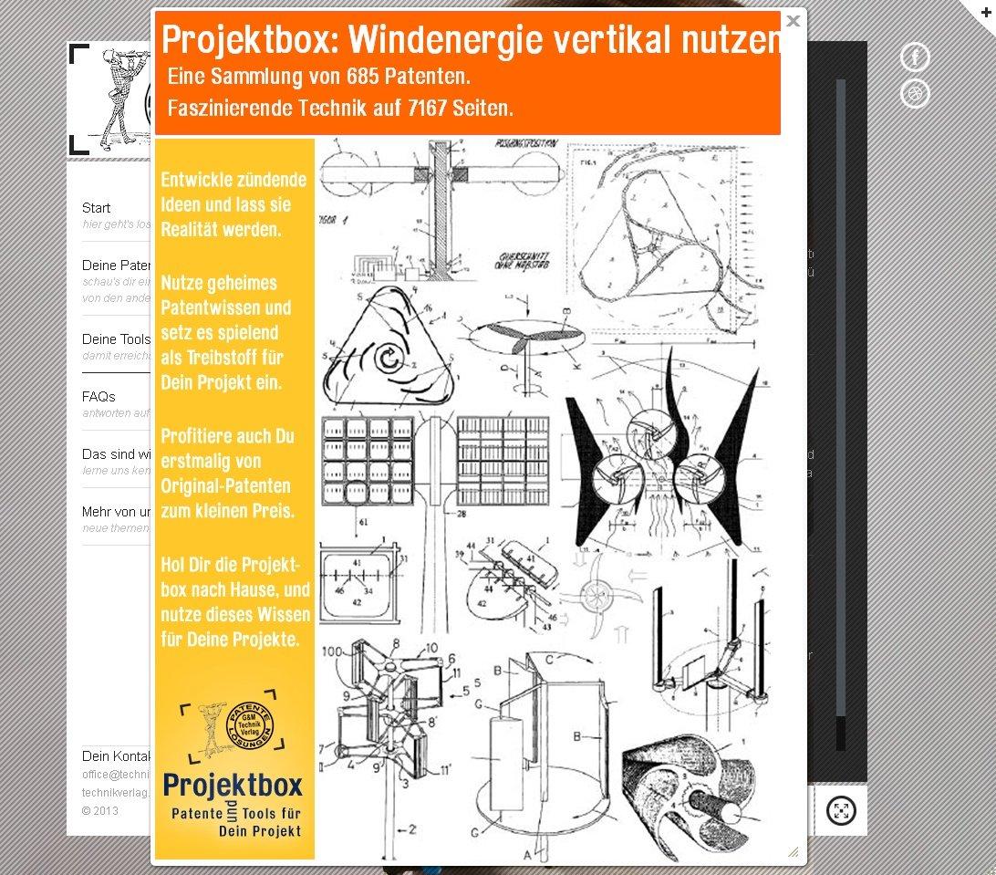 Windenergie vertikal: 685 Patente faszinierendes Wissen ...