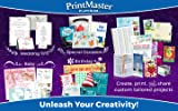 PrintMaster v8 Platinum for PC– Design Software for At Home Print Projects [Download]