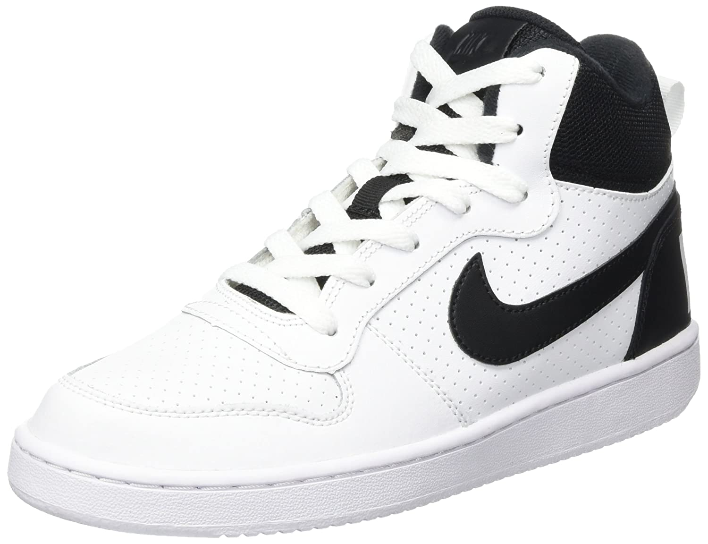 Nike Court Borough Mid (GS), Scarpe da Basket Unisex bambini