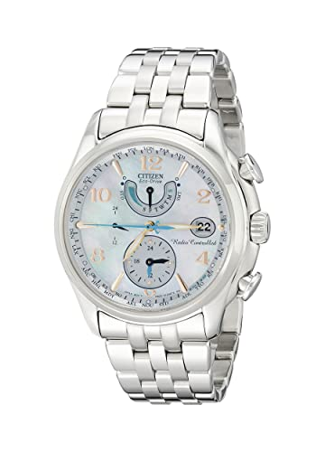 Citizen FC0000-59D - Reloj para Mujeres, Correa de Acero Inoxidable Color Plateado: Amazon.es: Relojes