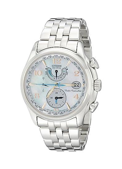 Citizen FC0000-59D - Reloj para Mujeres, Correa de Acero Inoxidable Color Plateado: Amazon.es: Relojes