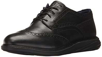 Cole Haan Women's Grandevolution Waterproof Oxford, Black Leather, ...