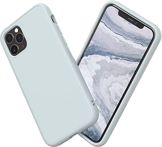 Amazon Com Rhinoshield Case Compatible With Iphone 11 Pro Max Solidsuit Shock Absorbent Slim Design Protective Cover With Premium Matte Finish 3 5m 11ft Drop Protection Classic Cloud Gray