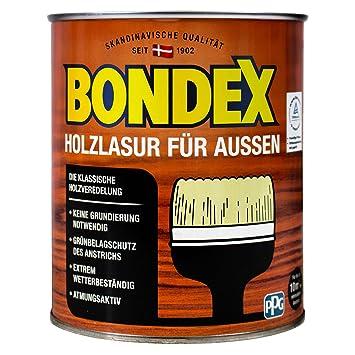 Awesome Bondex Lasure Pour Bois à Lu0027extérieur 726 Châtaignier 0,75 Litre