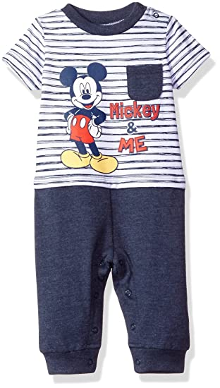a134ce8df Amazon.com  Disney Baby Boys  Mickey Mouse Romper