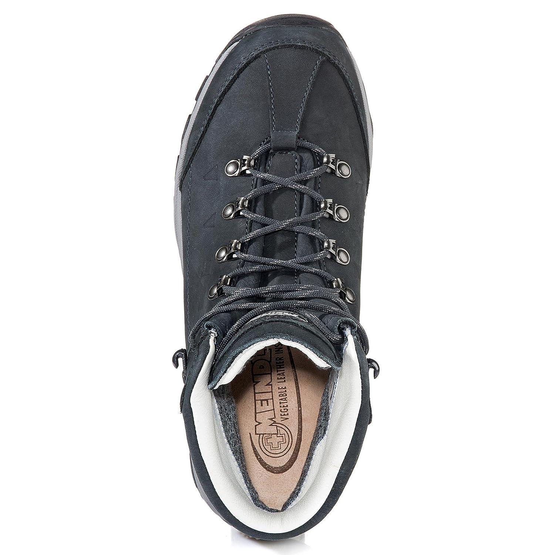 Meindl Chaussures de randonn/ée Basses pour Femme Marine//Silber