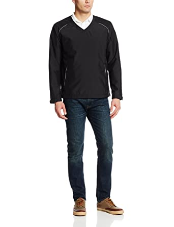 Cutter Buck Mens Cb Weathertec Beacon V Neck Jacket At Amazon