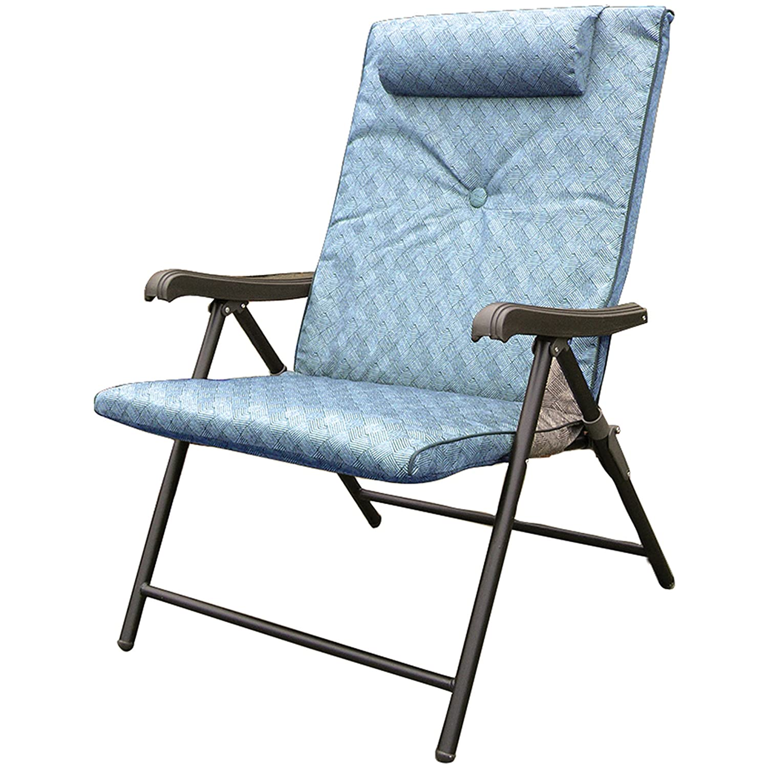 Delicieux Amazon.com: Prime Products 13 3372 Blue Prime Plus Folding Chair  (120.1084): Automotive