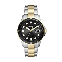Men's FB-01 Stainless Steel Dive-Inspired Casual Quartz Watch