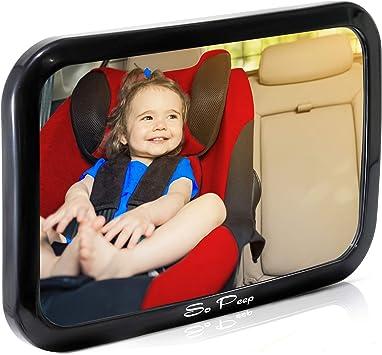Shatterproof Baby Backseat Mirror