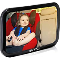 Baby Backseat Mirror for Car - View Infant in Rear Facing Car Seat - 100% Lifetime Satisfaction Guarantee - Best Newborn…