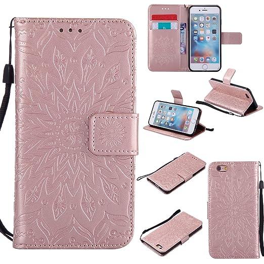 4 opinioni per Cover per iPhone 6S plus/6S/6 plus/6/, Milota Iphone SE/5S/5, PU Custodia in