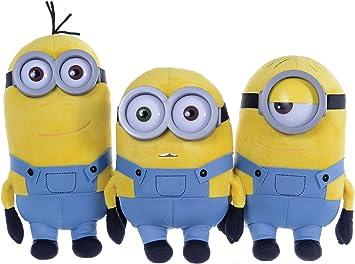Minions Despicable Me Ragazzi Peluche Minions Bob 28 cm – Giallo