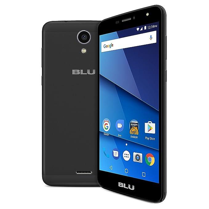 "c05fe6c7af3 Amazon.com: BLU Advance A6 -Unlocked Dual Sim Smartphone - 6.0"" HD Display  -Black: Cell Phones & Accessories"