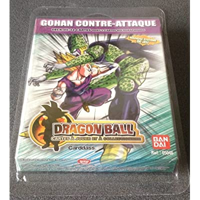 Jeux de Cartes 12 en 1 'Dragon Ball' - Starter Super Série Gohan contre-attaque