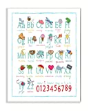 Stupell Home Décor ABCs 123s Song and Icons Wall