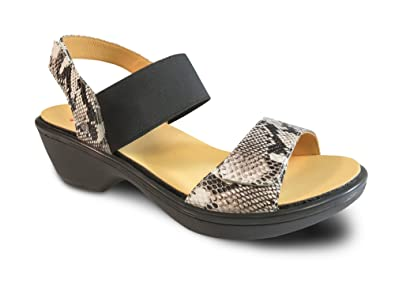 Really For Sale Revere Comfort Shoes Valencia Slingback Sandal(Women's) -Black Leather Limited Edition Discounts Cheap Online Amazing Price Cheap Pay With Visa 1cYDQIX