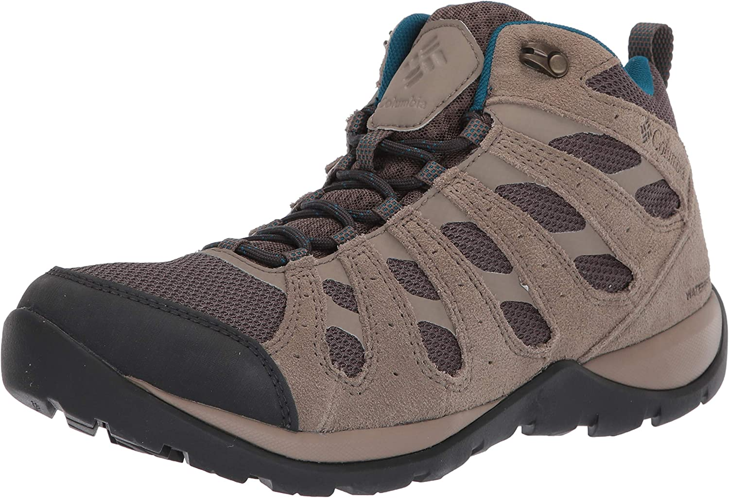 Breathable Leather Hiking Columbia Women/'s Redmond V2 Waterproof Mid Boot