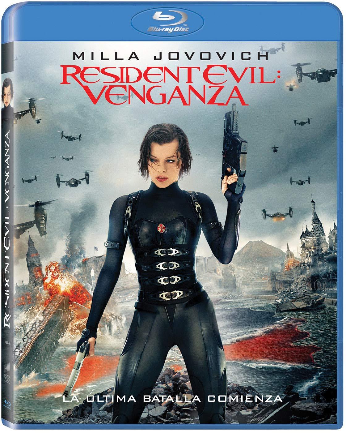 Resident Evil: Venganza - Bd [Blu-ray]: Amazon.es: Milla Jovovich ...