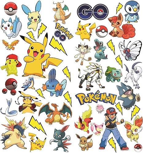 Aufkleber Sticker Kind Pikachu 15131