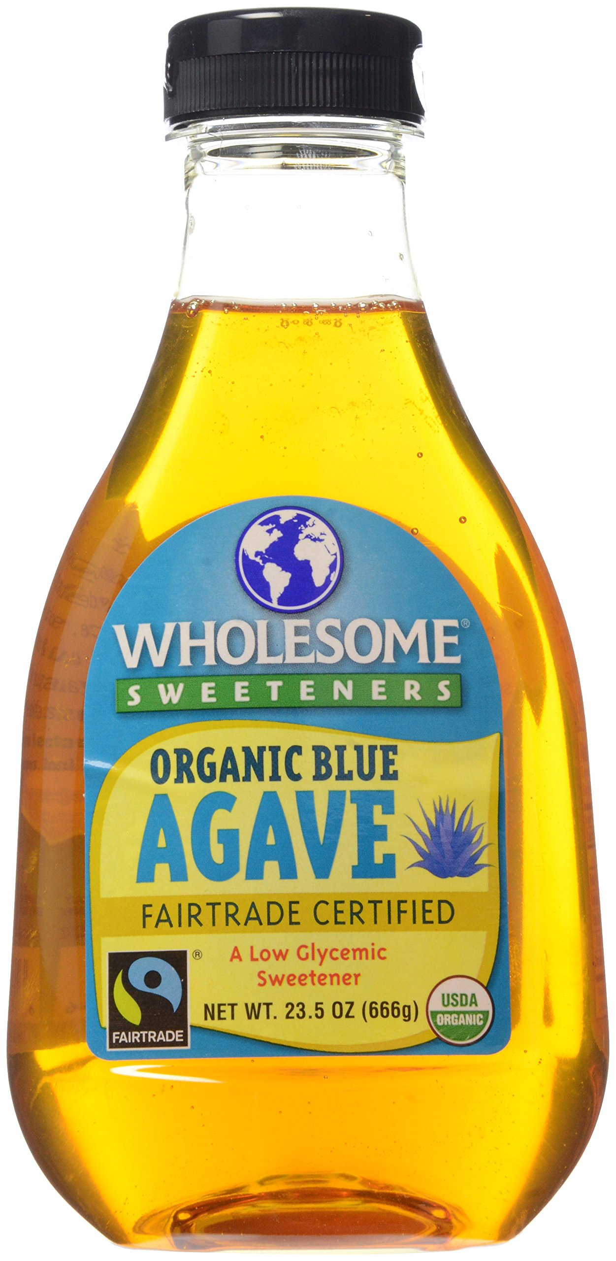 Wholesome Sweeteners, Blue Agave, Light, Organic, 23.5 oz