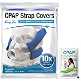 RespLabs CPAP Strap Covers - Universal 10 Pack - Reusable, Multi-Fit, Comfort Enhancing. Soft, Washable, Breathable Fabric Wr