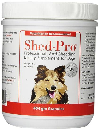 dog vitamins for shedding