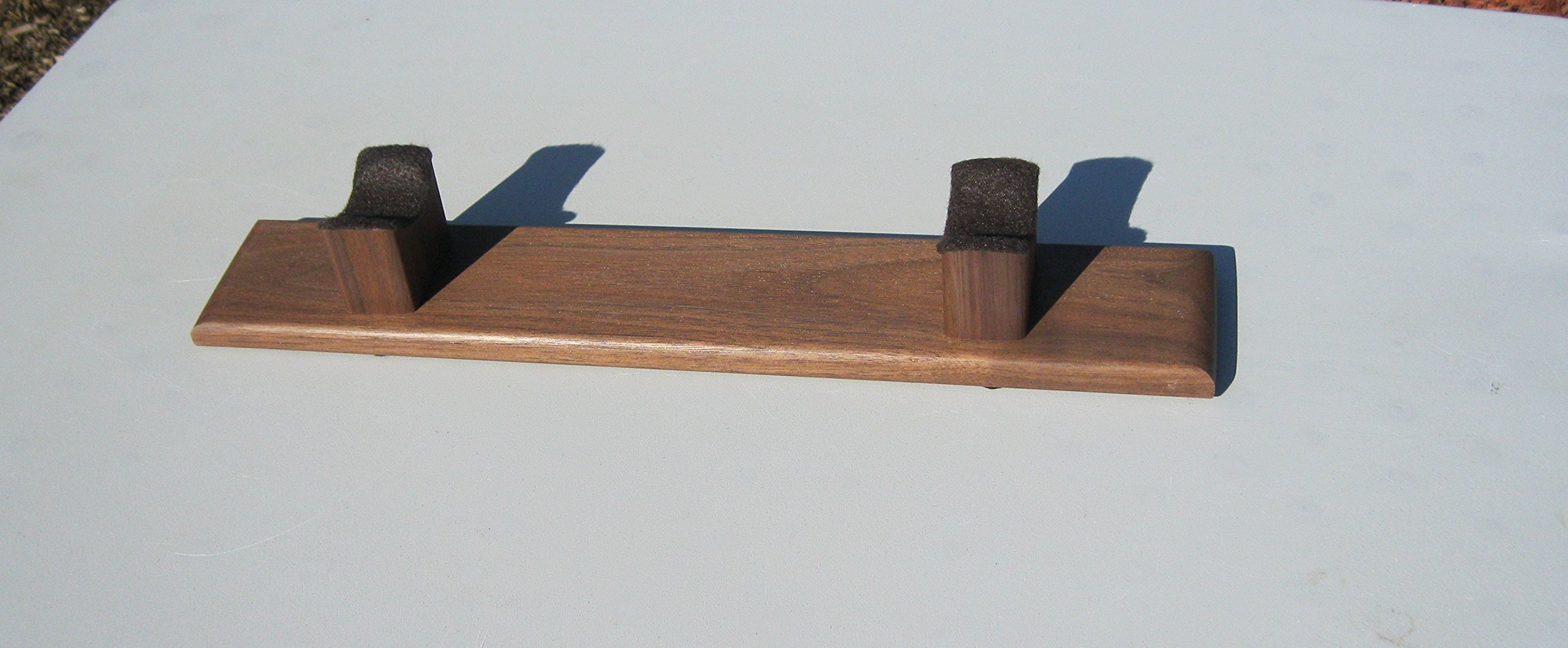 Native American Flute Stand - Hand Made - Made From Solid American Walnut - Hand Rubbed Finish