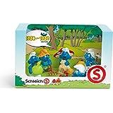 Schleich - 41257 - Figurine - Coffret Schtroumpfs 80-89