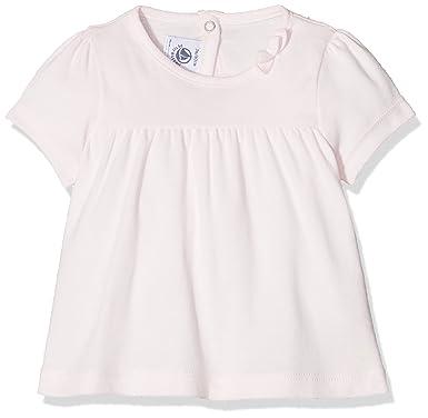 cdc4e975e49 Petit Bateau Baby Girls  TEE Shirt MC 43406 T