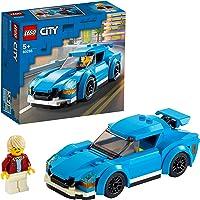 LEGO 60285 City Sportwagen met Afneembaar Dak en Poppetje, Speelgoedauto voor Kinderen van 5 Jaar, Cadeau voor Jongens…