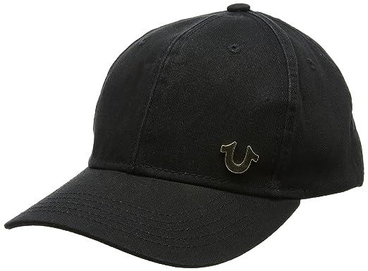 5d5d483febd Amazon.com  True Religion Men s UK Core Logo Baseball Cap
