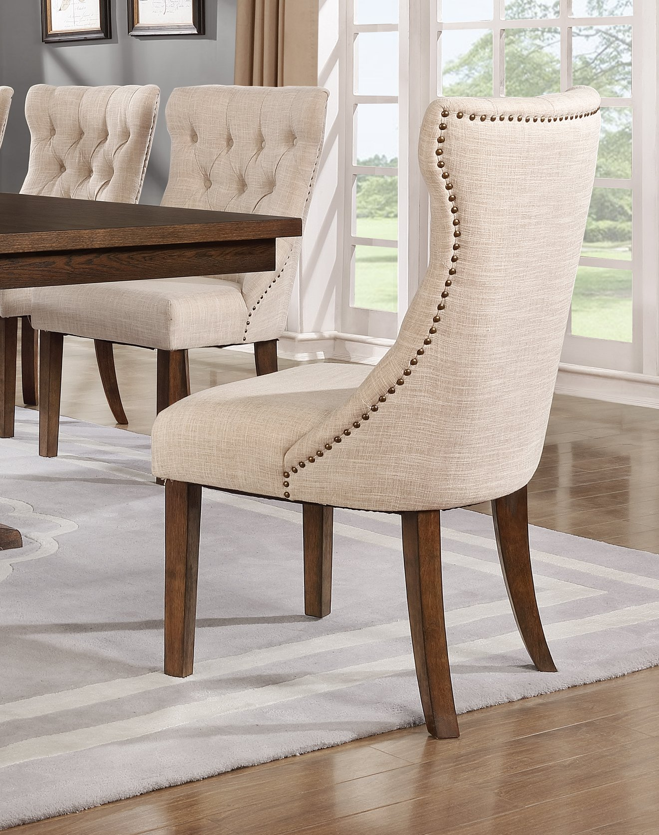 Best Quality Furniture Upholstered Dining Chairs by Best Quality