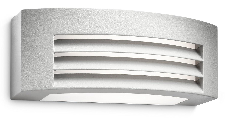 Philips myGarden Fragance - Aplique, iluminación exterior, bombilla incluida, 20 W, luz blanca cálida, aluminio, color antracita 915002241102 apliques iluminacion interior