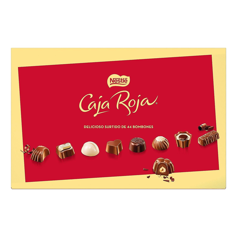 Nestlé Caja Roja Bombones de Chocolate - Estuche 400g: Amazon.es: Amazon Pantry