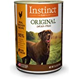 Instinct Original Grain Free Real Chicken Recipe Natural Wet Canned Dog Food by Nature's Variety, 13.2 oz. Cans (Case of…
