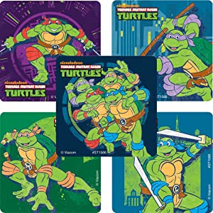 SmileMakers TMNT Classic Stickers - Prizes and Giveaways100 Per Pack