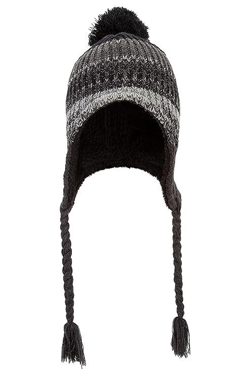 Mountain Warehouse Cappello a colbacco a trecce in pile effetto sherpa da  uomo - Lavorazione a maglia con ... 48a1f62451a8