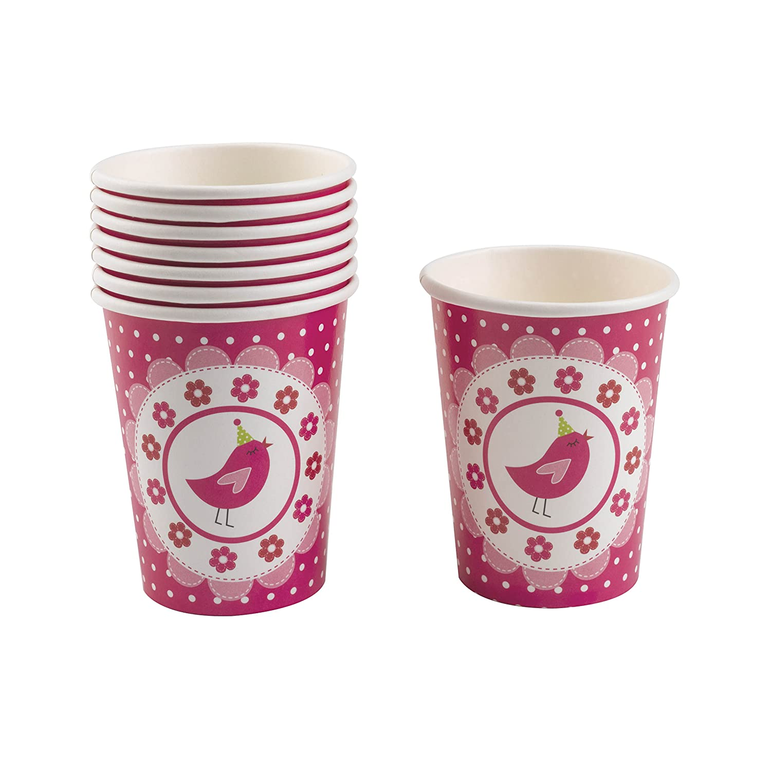 Neviti Party Pack 2 Pack Party Cups A Little Bird Told Me Set Of 16 Cups Cups Tableware
