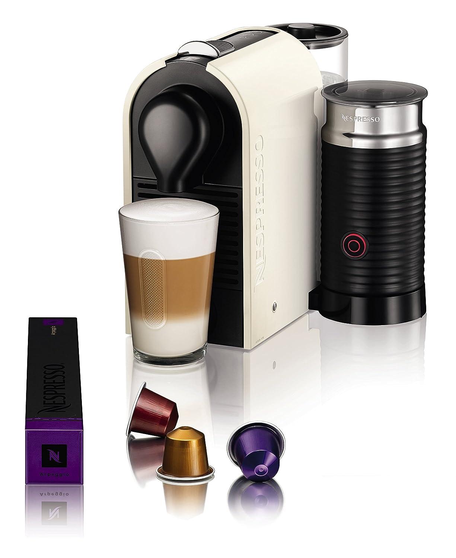 Krups Nespresso U & Milk Independiente Máquina espresso 0.7L Crema de color - Cafetera (Independiente, Máquina espresso, 0,7 L, Cápsula de café, 1260 W, ...