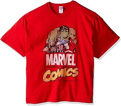 Marvel Retro Comics - Camiseta para Hombre: Amazon.es: Ropa y accesorios