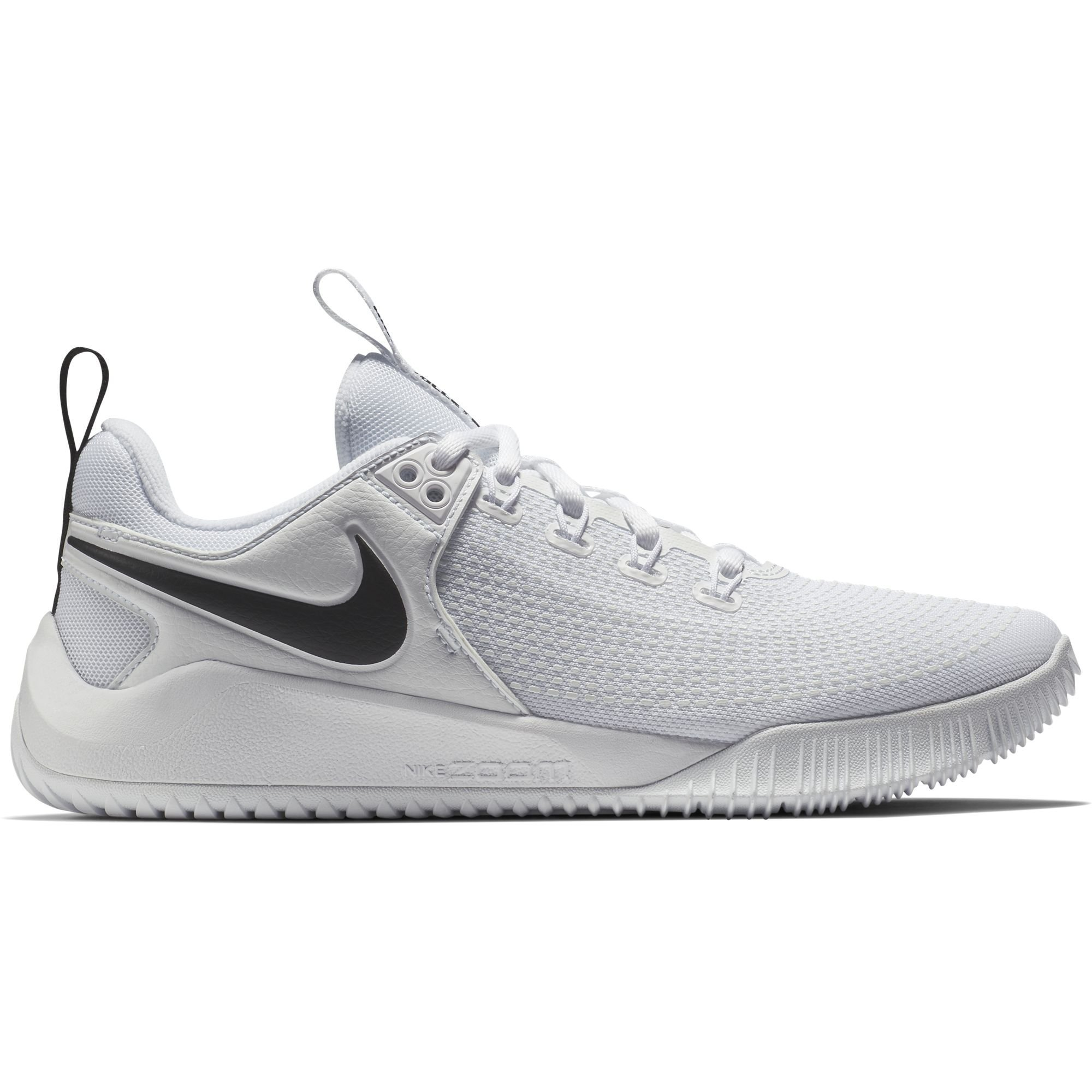 NIKE Women's Zoom Hyperface 2 Volleyball Shoes (6.5 B(M) US, White/Black)