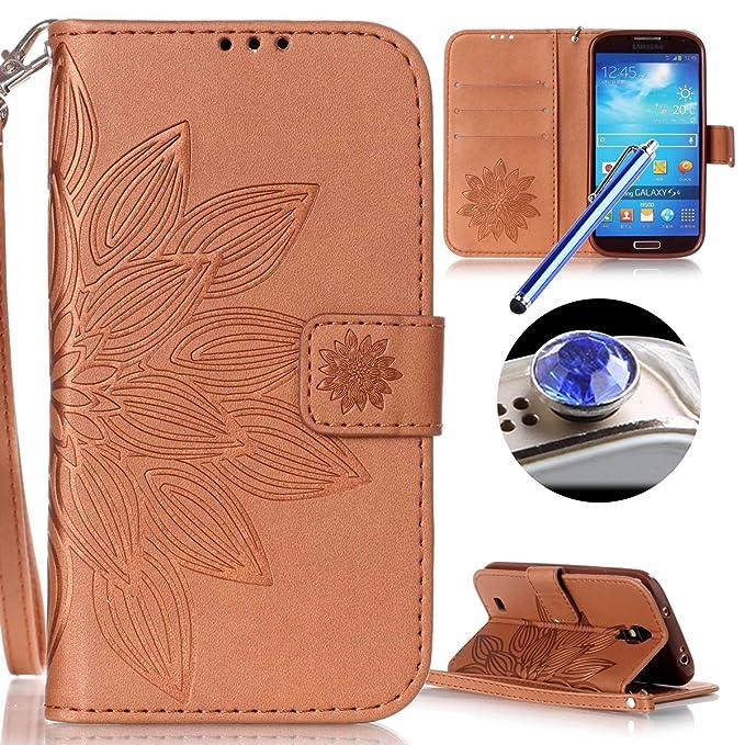 4 opinioni per Etuse Custodia Per Samsung Galaxy S4,Samsung Galaxy S4 Cover Marrone,Samsung