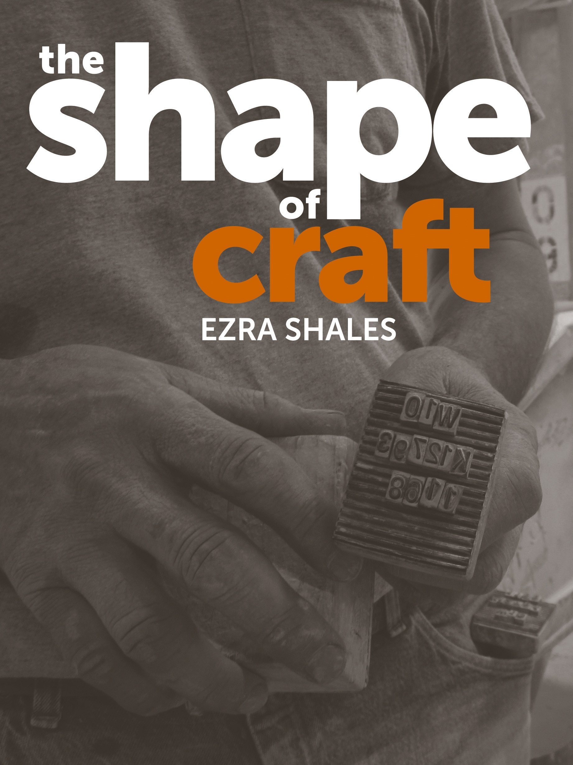 The Shape of Craft by Reaktion Books