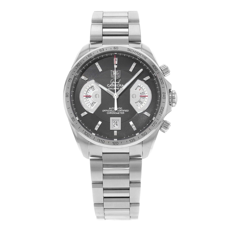 Tag Carrera Watch >> Amazon Com Tag Heuer Men S Cav511a Ba0902 Grand Carrera Chronograph