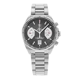 d01e84e107d Image Unavailable. Image not available for. Color: TAG Heuer Men's  CAV511A.BA0902 Grand Carrera Chronograph Calibre 17 RS Watch